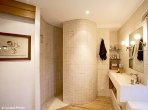 Salle de bain en pierre_Occitanie Pierres