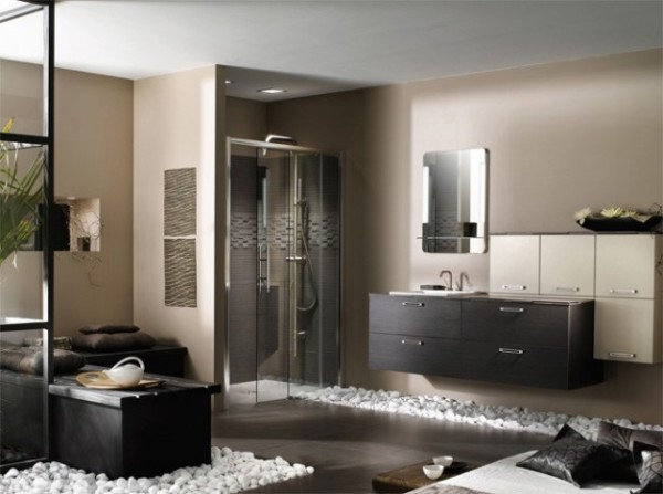 salle de bain zen pour une d tente optimale. Black Bedroom Furniture Sets. Home Design Ideas