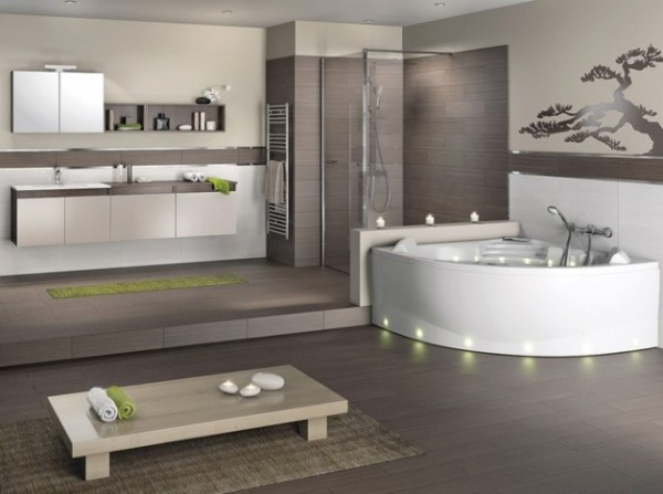 Salle de bain zen pour une d tente optimale for Decoration sal de bain