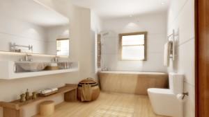 photo salle de bain bois