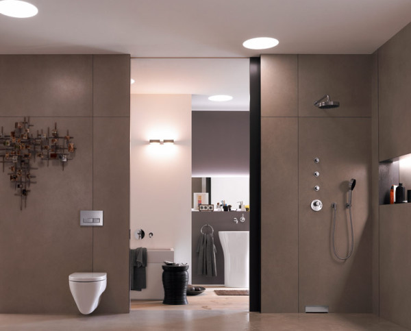 La salle de bain contemporaine for Salle bain design italienne