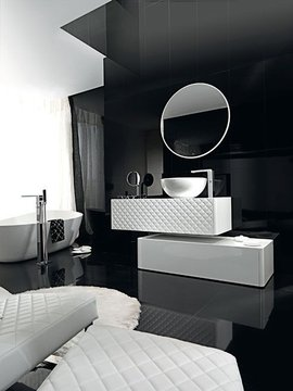 photo salle de bain contemporaine porcelanosa