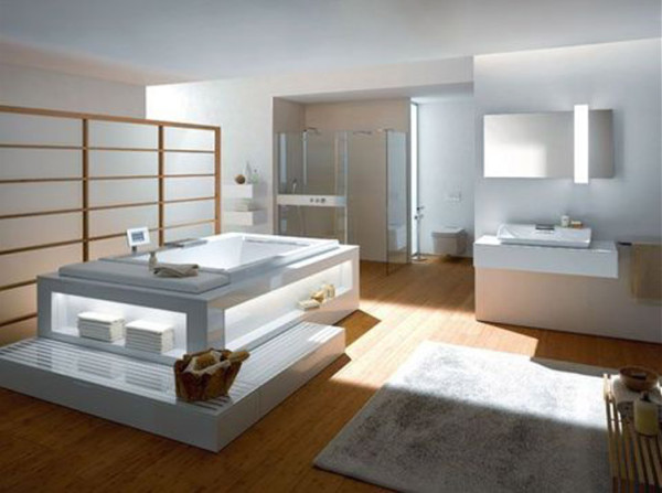 photo salle de bains zen toto