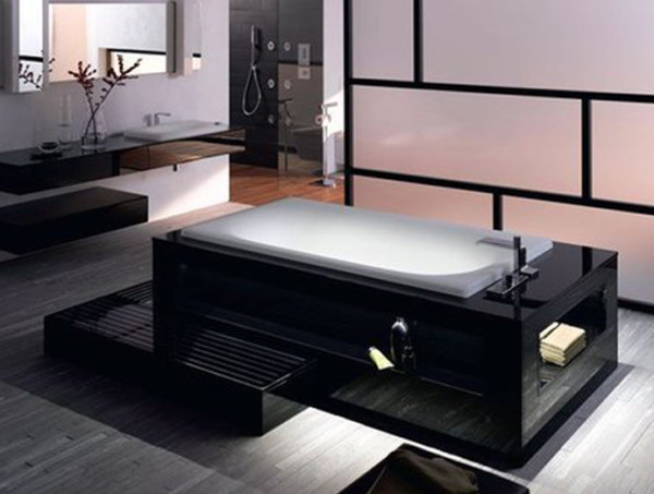 carrelage salle de bain japonais. Black Bedroom Furniture Sets. Home Design Ideas