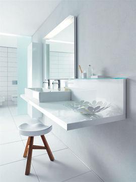Salle de bain blanche Eoos- idée déco