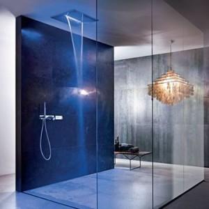 douche italienne cascade lumineuse - luxe fantani