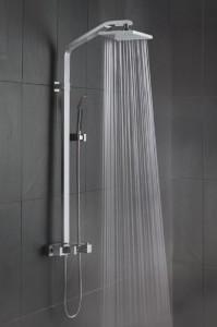 support de douche italienne